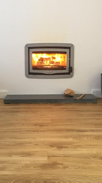 Charnwood inset wood burning stove