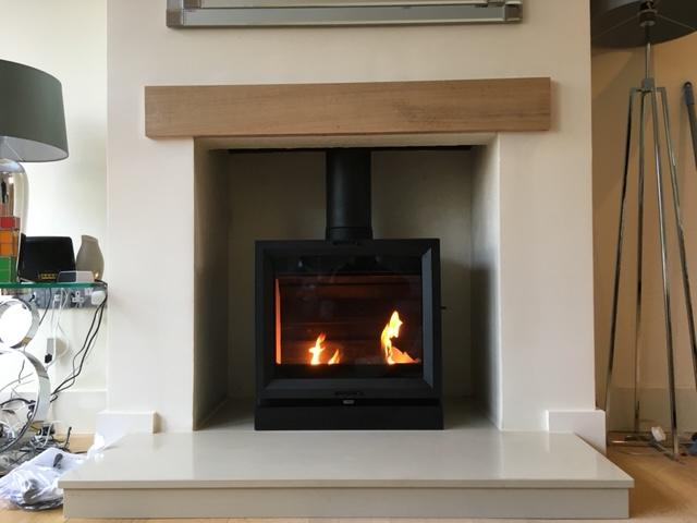 Heta log burner