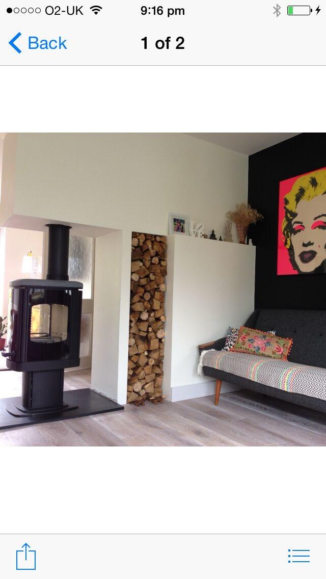 Charnwood log burner